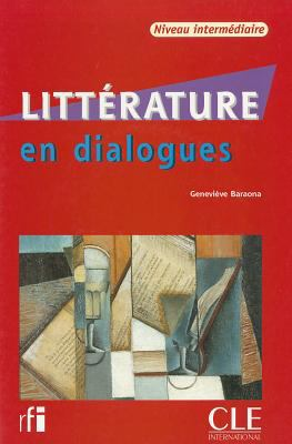 Litterature En Dialogues + Audio CD (Intermediate) 9782090352184