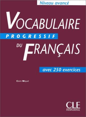 Vocabulaire Progressif Du Francais Textbook (Advanced) 9782090338768