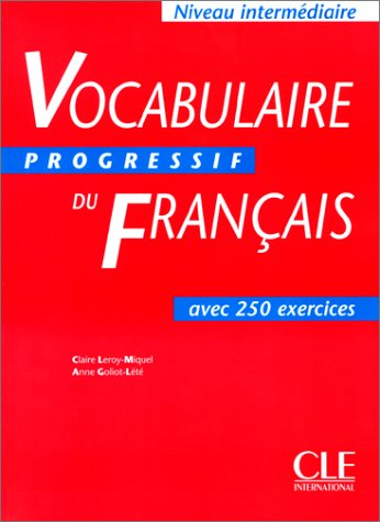 Vocabulaire Progressif Du Francais Textbook (Intermediate) 9782090338720