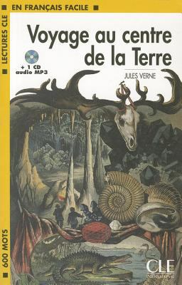 Voyage Au Centre de La Terre Book + MP3 CD (Level 1) 9782090318418