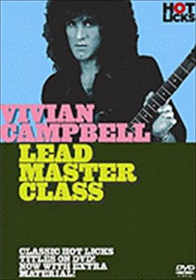 Vivian Campbell Hot Licks: Lead Master Class