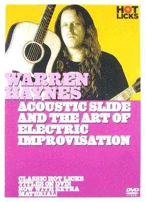 Warren Haynes Hot Licks: Electric Slide & the Art of Electric Improvisation