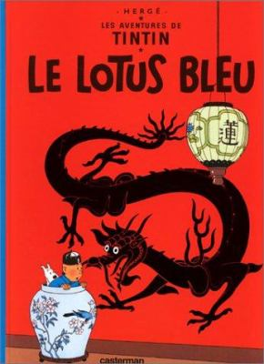 Le Lotus Bleu = The Blue Lotus 9782203001046