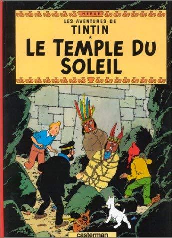 Le Temple Du Soleil = Prisoners of the Sun 9782203001138