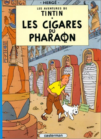 Les Cigares Du Pharaon = Cigars of the Pharaoh 9782203001039