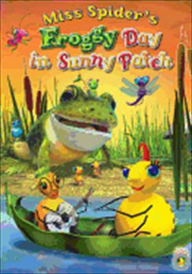 Miss Spider: Froggy Day in Sunny Patch