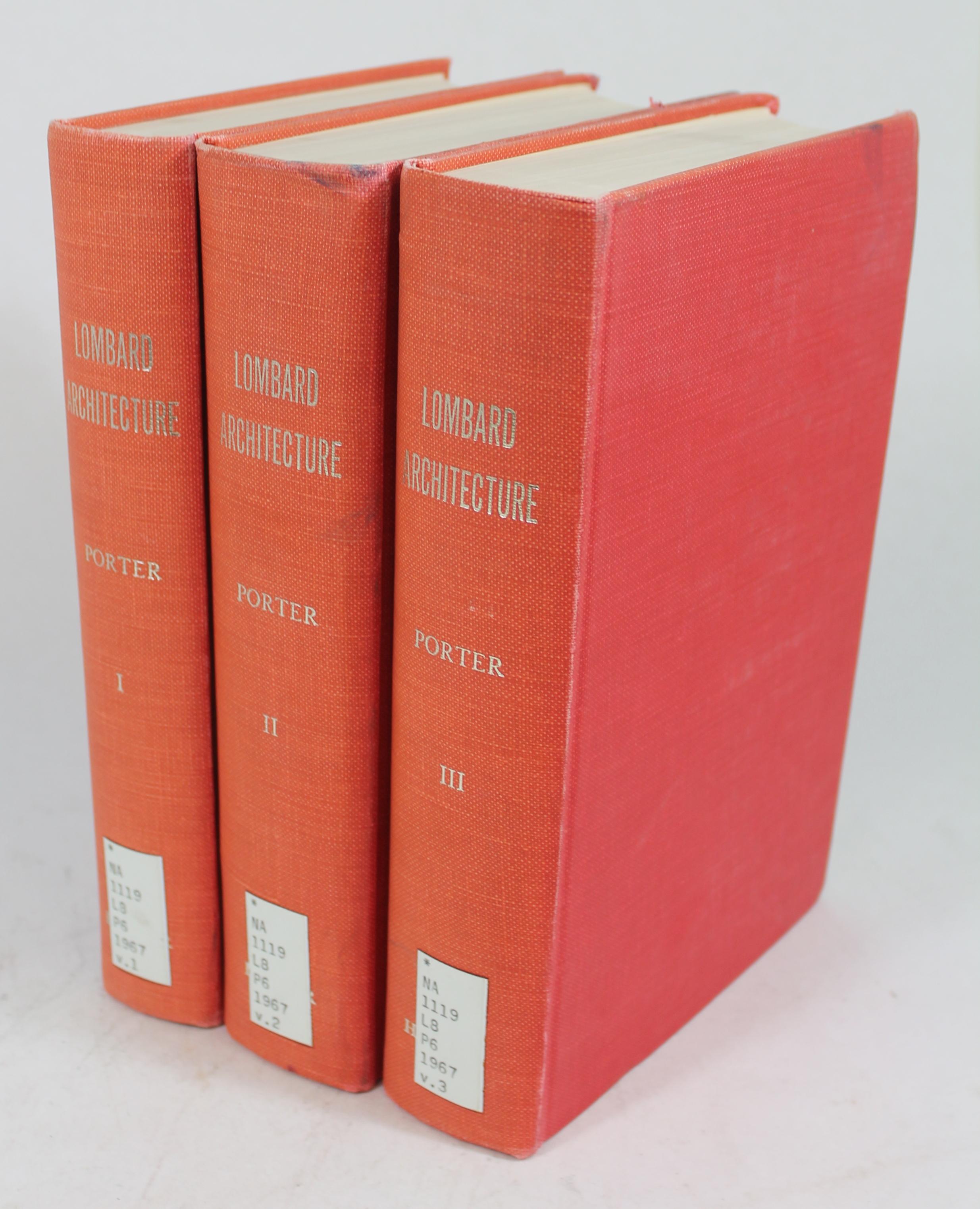 Lombard Architecture, Volumes I-III BWB22476557