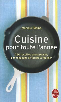 Cuisine Pour Toute L'Annee 9782253054511