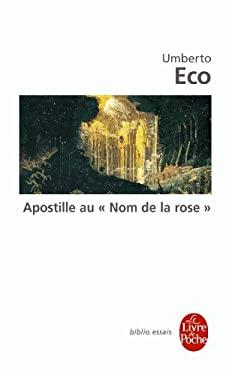 Apostille Au Nom de La Rose 9782253044147