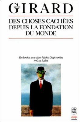 Des Choses Cachees Depuis Fondation Du Monde 9782253032441