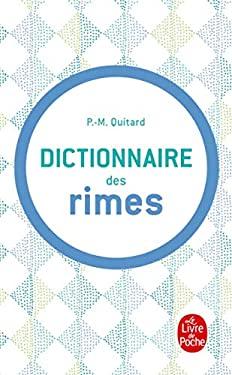 Dictionnaire Des Rimes 9782253131137