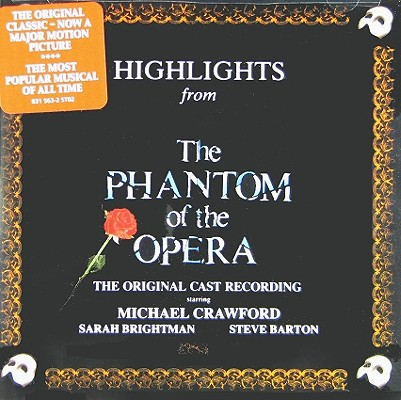 Phantom of Opera 0042283156326