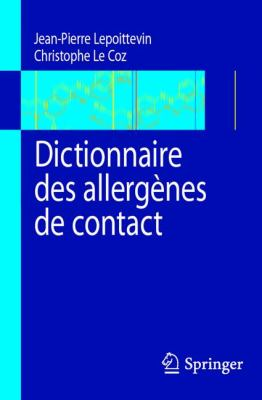Dictionnaire Des Allergenes de Contact