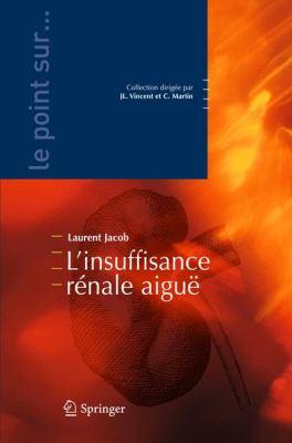 L'Insuffisance R Nale Aigu 9782287711510
