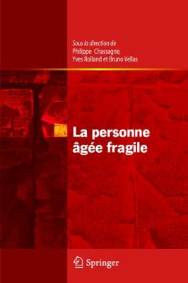 La Personne Agee Fragile 9782287939105