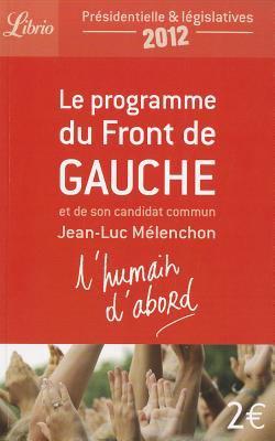 Le Programme Du Front de Gauche 9782290040645