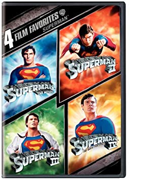 4 Film Favorites: Superman (Superman II: Special Edition, Superman III: Deluxe Edition, Superman IV: Deluxe Edition, Superman, The Movie: Special Edit