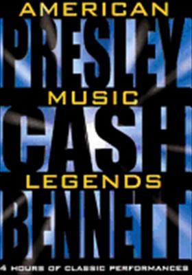 American Music Legends: Presley, Cash, Bennett