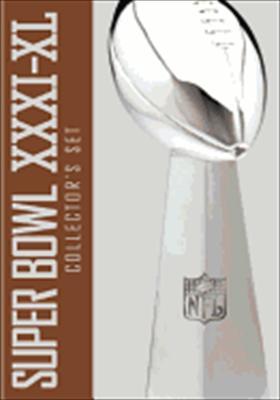 NFL Super Bowl Collection XXXI - XL