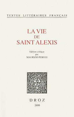 La Vie de Saint Alexis 9782600004565