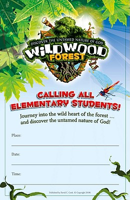 Wildwood Forest Bulletin Inserts: Discover the Untamed Nature of God