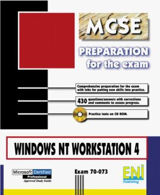 Windows NT 4 Workstation: Exam 70-073 [With CDROM] 9782746000698