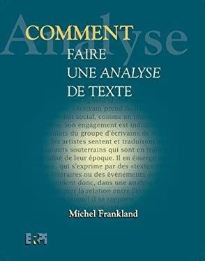 Comment Faire une Analyse de Texte