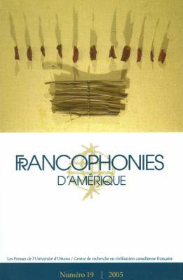 Francophonies D'Amerique 19 9782760306196