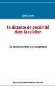 La Distance de Proximit Dans La Relation 9782810618200