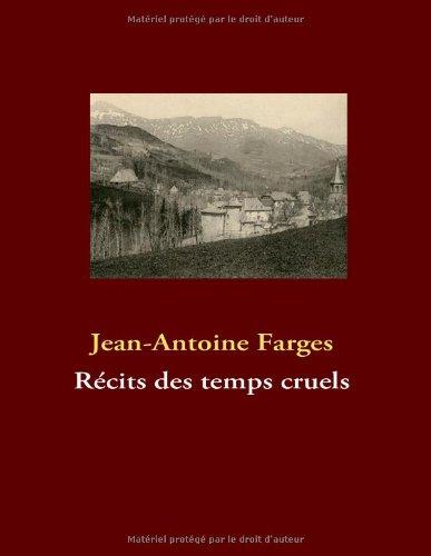 Recits Des Temps Cruels 9782810618446