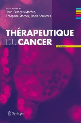 Therapeutique Du Cancer 9782817800202