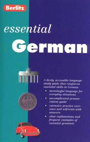 Berlitz Essentials: German 9782831557168