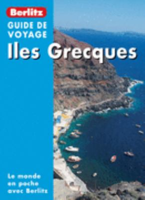 Berlitz Greek Islands of the Aegean Pocket Guide in French 9782831564593