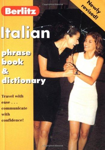 Berlitz Italian Phrase Book 9782831578446