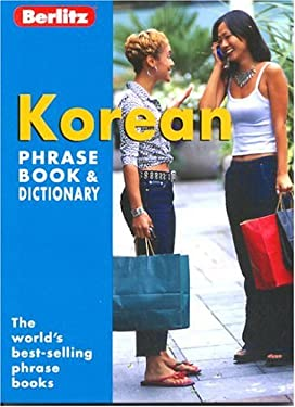Berlitz Korean Phrase Book 9782831562681