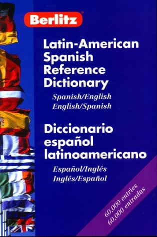 Berlitz Latin-American Spanish/English Reference Dictionary 9782831573304