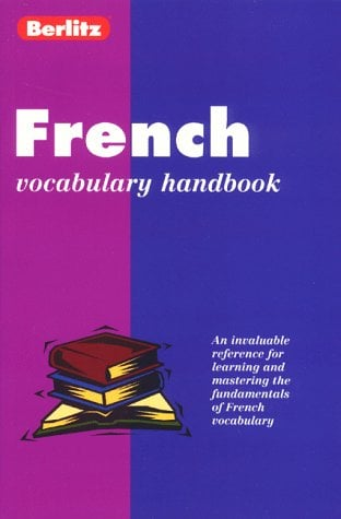 French Vocabulary Handbook 9782831563893