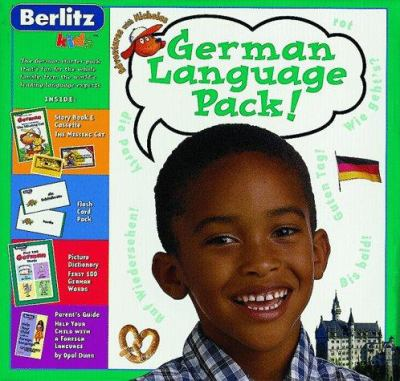 German Language Pack [With 64 Page Book, Audio Cassette, Audio Dict, 8 Songs] 9782831562278