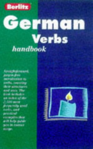 German Verb Handbook 9782831563916