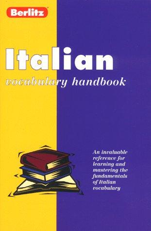 Italian Vocabulary Handbook 9782831563954