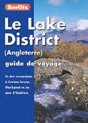 LAKE DISTRICT FRENCH BERLITZ PO 9782831572574