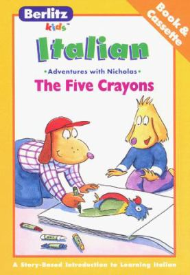 The Five Crayons Italian 9782831565408