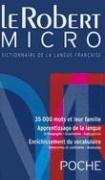 Le Robert Micro: Dictionnaire D'Apprentissage de la Langue Francaise 9782849022528