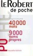 Le Robert de Poche 9782849022238