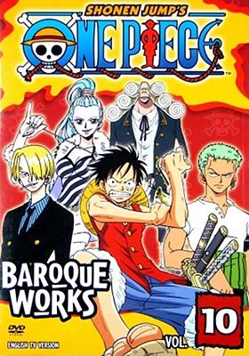 One Piece Volume 10: Baroque Works