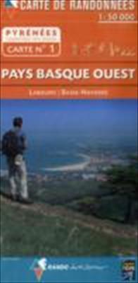 Pays Basque Ouest: Labourd/Basse Navarre 9782841823086
