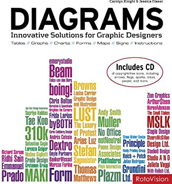 Diagrams: Innovative Solutions for Graphic Designers [With CDROM] 9782888930617