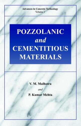 Pozzolanic and Cementitious Materials 9782884492119