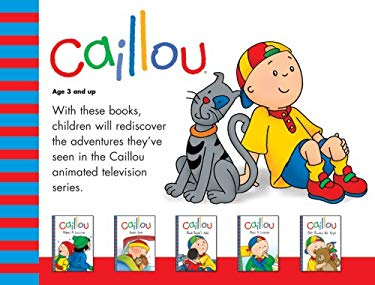 Caillou Boxed Set 9782894507001