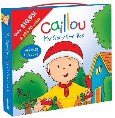 Caillou: My Storytime Box 9782894507698